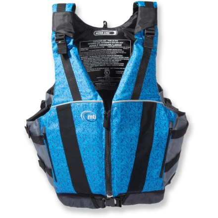 Kayak and Canoe Have more fun on the water this summer in the adjustable comfort of the women's MTI Mona Lisa all-purpose PFD. - $35.83