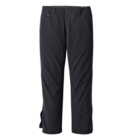 Camp and Hike The REI Mistral 30 in. soft-shell pants will keep you hiking comfortably through autumn's weather changes. - $48.83