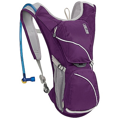 Fitness Free Shipping. CamelBak Women's Aurora 70oz Hydration Pack DECENT FEATURES of the CamelBak Women's Aurora 70 oz Hydration Pack Designed for women External fill Air channel back panel Air mesh with velvetex lining harness Overflow storage Bike tool organizer pocket Dual compression straps Reflectivity Designed to Carry: Multi-tool, pump, spare tube, keys, cards and cash The SPECS Total Capacity: 183 cubic inches / 3 liter + 2 liter Reservoir Pack Only Weight: 9.9 oz / 280 g Dimension: 15 x 7 x 5.5in. / 38 x 18 x 14 cm Hydration Capacity: 70 oz / 2 liter Frame Size: 14 in / 36 cm Fabric: 210D Nylon and 70D Diamond Clarus with DWR + 1000 mm PU - $66.95