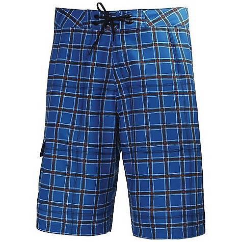 Surf Free Shipping. Helly Hansen Men's Maui Trunk DECENT FEATURES of the Helly Hansen Men's Maui Trunk Cargo pocket Drawstring adjustment Regular fit Mesh lining Above knee length The SPECS Fabric Weight: 146 g/m2 100% Polyester This product can only be shipped within the United States. Please don't hate us. - $69.95