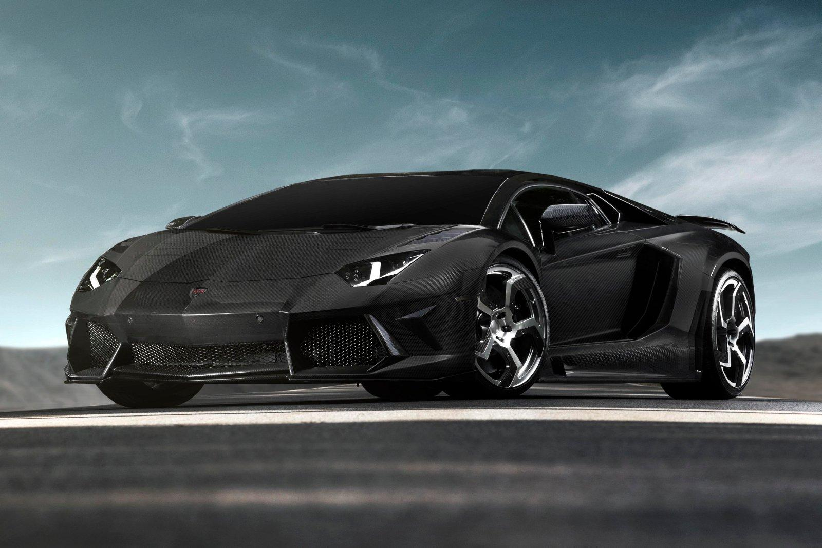 Auto and Cycle Lamborghini Aventador Carbonado by Mansory
