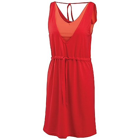 Entertainment Free Shipping. Merrell Women's Kapiti Mix Dress DECENT FEATURES of the Merrell Women's Kapiti Mix Dress Attached, wicking interior tank offers a little compression for on-the-go comfort Draw-tie waist Back necktie The SPECS High point shoulder to hem: 36in. 90% Polyester, 10% Elastane (inner tank), 97% Polyester, 3% Elastane (dress) UPF 20 - $64.95