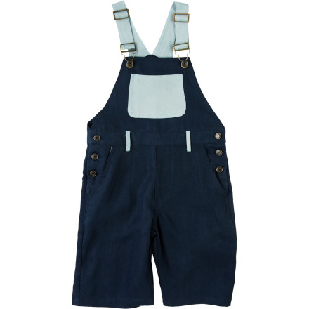 Keep your kid looking cute and feeling comfy in the A For Apple Double Tencel Boys' Dungaree. The Tencel fabric has a super-soft feel to keep him happy, and it's strong to resist tears during his playground escapades. - $77.95