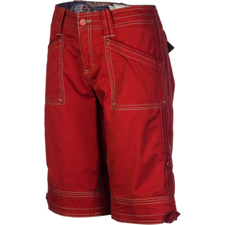 Entertainment Whether you have a concert in the park or barbecue to attend, slip on the Aventura Women's Arden Short and enjoy its relaxed, comfortable fit and look. - $66.95