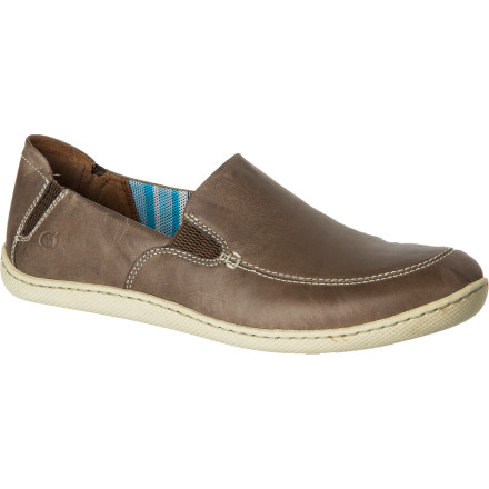 Born Shoes made its Men's Dane Shoe with full-grain leather for a rich, back-to-nature look and gave the Dane the same kind of high-quality craftsmanship and construction you'd expect from Born. Slip your foot in and enter a new stage of shoe comfort. - $84.96