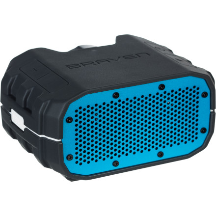 Entertainment You could keep alienating all your friends by rocking out with your headphones at full blast'''or you could pick up the Braven BRV-1 Portable Wireless Bluetooth Speaker, and enjoy the jams with the whole crew anywhere, anytime. The water- and impact-resistant BRV-1 handles just about anything other than full submersion in water, and lets you adjust tracks, change volume, and even take calls thanks to the built-in controls and noise-canceling mic. - $179.99