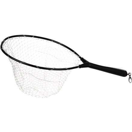 Camp and Hike For the performance of a Ghost net at a price that won't break the bank, look no further than the Brodin Davidson Trout Bum Net. The thermoplastic Ghost net eliminates snagged flies, and the hoop size is ideal for fish up to 22 inches in length. - $48.95