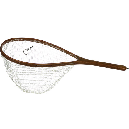 Camp and Hike Like its name implies, the Brodin Trout Ghost Series Net is the tool of choice for gentle catch and release on western trout streams. In addition to being easy on fish, the thermoplastic Ghost net eliminates snagged flies while the 11-inch handle allows you to reach out and easily land those speckled browns and cutthroats. Plus, the handsome teak wood looks great when you snap a few photos. - $99.95