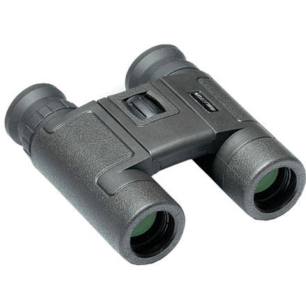 Camp and Hike If you're looking for affordable binoculars that are easy to bring on bird-watching hikes or to sport events, pick up Brunton's Echo Compact Dual Hinge Binoculars. Choose the 8, 10, or 12 power depending on whether you're viewing things close up or farther away (8x means the binoculars make whatever you look at eight-times closer than viewing it with your naked eye). Full multi-coating on the Echo Compact Dual Hinge Binoculars cuts down on reflection from sunlight, while their foldable hinge and light weight mean you'll hardly know they're in your pack. - $70.00