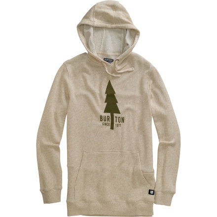 Snowboard The bus full of nuns seemed like a nice, cheap way to travel across the Great Plains. But after the fiftieth Hallelujah chorus, you owe your life to your MP3 player and the secret media pocket in your Burton Old Faithful Pullover Hoodie. - $36.57