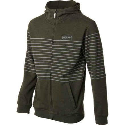 Snowboard The best way to stay anonymous is to keep moving by train, bus, and willing cross-country driver. The best way to stay fresh and comfortable during your constant elusive travels is to wear the Burton Premium Napper Full-Zip Hoodie. - $84.95