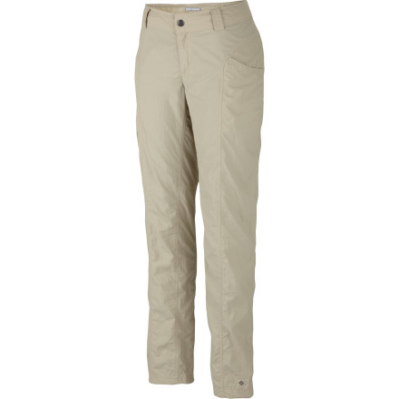 Camp and Hike You could spend the weekend slapping yourself and hosing yourself down with insect repellent, or you could just wear your Columbia Women's Insect Blocker Cargo Pants. These pants are built for adventure, and their bug-resisting super powers make them a great companion in the backcountry. - $59.96