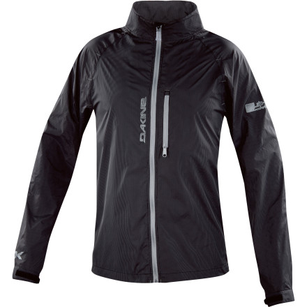Fitness From the road to the trail, the DAKINE Men's Breaker Jacket does just what you hope it does: blocks wind so you can focus on what's ahead of you. Whether you see it coming or you take a punch from an unexpected storm, the Breaker's lightweight nylon and polyester blend fends off light precip while it deflects wind. When the skies clear, unzip the Breaker, fold it down, and stuff it into your pack or cargo pocket on your short. - $39.98