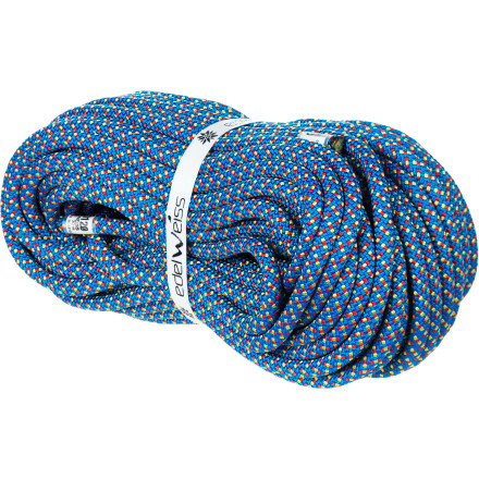 Climbing Designed specifically for glacier travel and alpinism, the 8.5mm Edelweiss Touring Standard Climbing Rope supplies reliable half-rope performance with a price tag that won't lay waste to your bank account. The low 5.8KN impact force rating minimizes stress on marginal snow and ice anchors while the slender 8.5mm diameter allows this cord to function in half or twin rope systems. - $69.90