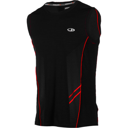 You may not be as quick as a certain hedgehog, but the Icebreaker Men's Sonic Shirt is exactly what you need for fast-paced aerobic pursuits. The ultralight merino wool blends with Lycra for an ideal sport-specific fit, and the eyelet mesh on the back and underarms keeps you comfortable when the sweat starts to fall like rain. - $69.95