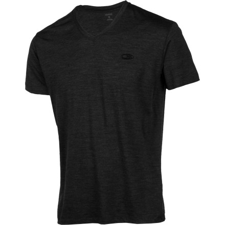 You won't find too many merino wool tees that offer v-neck styling, but the Icebreaker Men's Tech Lite V-Neck Shirt is one of the exceptions. Basic colors and soft, breathable merino wool mean that as simple as this shirt is, it's also incredibly versatile. - $69.95