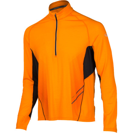 Fitness Icebreaker designs its GT line for a range of technical sports, from running to mountain biking to adventure racing. The Men's Sonic 1/2-Zip Top is part of the GT line, and as such, it's made with a combination of stretchy Lycra and soft, naturally breathable merino wool. Beside its high-end materials, this shirt also features a close cut, a drop-tail hem, and mesh underarms. Your synthetic top just got a little lower on the to-wear list. - $119.95