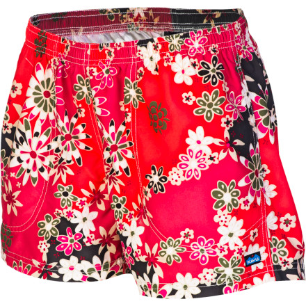 Surf With eye-catching prints and a soft, sanded finish, the Kavu Women's Seattle Short looks and feels so good you won't want to wait until beachtime to wear them. But make no mistake: made from Northwest micro polyester that resists water and dries in a flash, this board short lives to perform. - $49.95