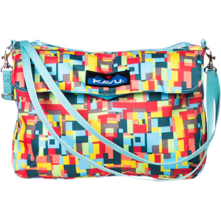 Entertainment Reach for the KAVU Women's Captain Clutch Purse for outings with the gals and sightseeing days with the family. - $29.95