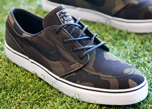 Skateboard New Camo Janoski