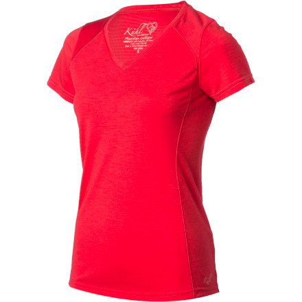 Fitness Slip into your K 1/4hl Women's Prima Short-Sleeve Shirt before you hit the trail for an afternoon run. The lightweight technical fabric helps keep you comfortable whether you're pushing for a personal best or just enjoying the view. - $48.95