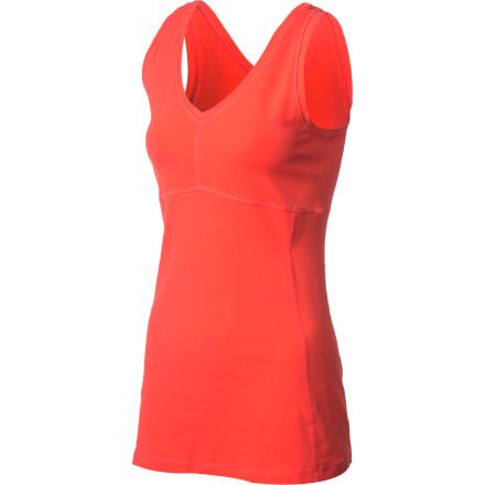 Fitness Tired of workout camis that barely cover your bellybutton' The Lucy Women's Power Flow Tank Top features a long cut that gives you plenty of coverage along with a figure-flattering look. Fuller-figured gals will appreciate the option of wearing a support bra with this stretchy tank instead of having to settle for a baggy tee or struggling into a top with a too-small shelf bra. - $49.00