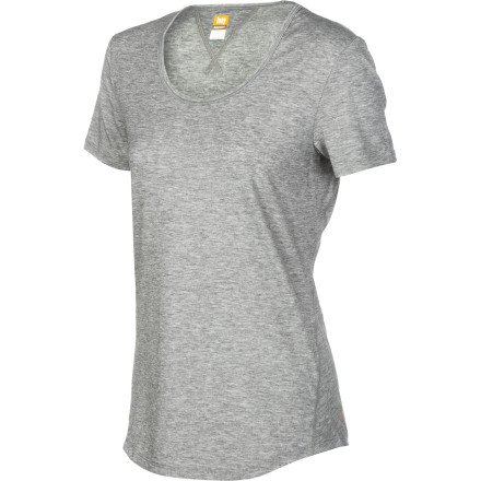 Fitness You could reach for any old tee when you're getting ready to go for a run, but why not use a tool built just for the job, like the Lucy Women's Workout Shirt' Stretchy, breathable, and quick-drying, this top was made specifically for trips to the gym or the trail. But if its comfort and fun heathered fabric tempt you to wear it elsewhere, go right ahead. We won't tell. - $39.00