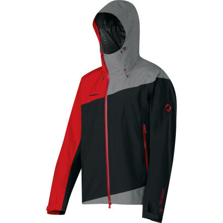Climbing Appropriately named for one of North America's most imposing peaks, the Mammut Rainier Jacket provides tech-backed protection from the elements during your alpine pursuits. Whether you're out for a casual afternoon of snowshoeing or gunning for a multi-pitch mixed climb, the Rainier sheds the weather and keeps you comfortable. - $298.95