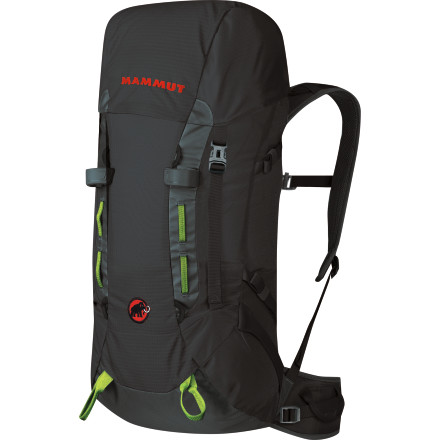 Climbing Calling all mountaineers and climbers who travel smart on day trips or overnight adventures\227stash your essentials in the Mammut Trion Element 30 Backpack and make a beeline for the trail. Whether you're on the approach for a tech-oriented day at the crag or just building a campfire out of sight of the road after finishing a via ferrata route, this versatile pack handles it all. - $149.95