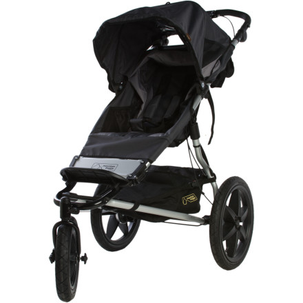 Camp and Hike If you're an avid jogger who needs a daily fix or a hiker that likes to get off-road, you need a heavy-duty jogger like the Mountain Buggy Terrain Stroller. This burly folding jogger features a shock-absorbing suspension that offers a smooth ride no matter what you're rolling over, so junior can enjoy the scenery in comfort while you get your sanity-saving exercise. - $374.99