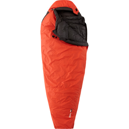 Camp and Hike Plan your trip, gather your expedition partners, and set off into the mountains with the Mountain Hardwear Banshee Sleeping Bag. The Banshee sleeping bag is worthy of the elite cold-weather camper, and as such it boasts a fully waterproof breathable shell on the outside and water-repellent down insulation on the inside. Water repellency allows this down insulation to resist moisture and maintain high loft in wet weathera trait uncommon to other varieties of down insulation. Go deep into the mountains with this zero-degree sleeping bag and slumber soundly while nasty weather rages around you. - $799.95