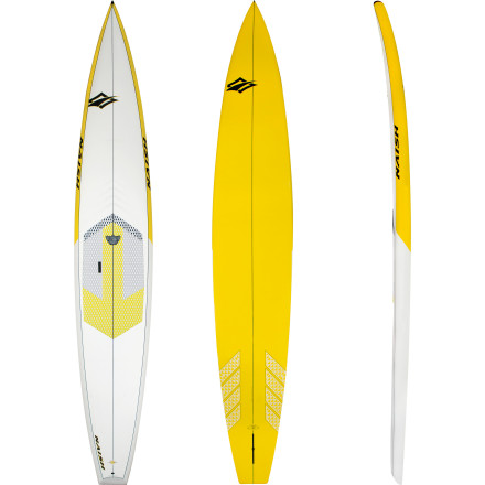 Surf The Naish Glide Series AST Stand Up Paddleboard keeps things light and quick when you race against your competitors or cruise with your friends. Built for intermediate to advanced paddlers, the Glide moves incredibly fast but is also easy to maneuver in the surf. - $1,279.16