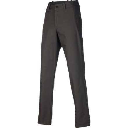 Step out of bed and into the NAU Men's Dayuse Chino Pants. Made with 100% organic cotton canvas, the Dayuse provides comfortable all-day wear for work, barbecues, or lounging at home. - $97.95