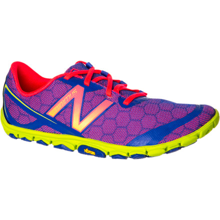 "Fitness With its low-drop design and featherweight materials, New Balance's Women's WR10v2 Minimus Running Shoe facilitates what New Balance calls ""Good Form Running,"" which features an upright posture and joint-friendly midfoot striking with a high cadence. New Balance found a way to shave nearly an ounce off the weight of last year's model, while at the same time enhancing durability and traction with a new Vibram outsole.New Balance offers a variety of minimalist-oriented running shoes; the WR10v2 falls in the middle of the range, between the featherweight, zero-drop Minimus Zero shoe and the WR20 shoe. If you're an experienced minimalist-style runner, but looking for more cushioning than the Zero offers, you'll prefer the WR10; runners just making the transition and getting used to this new style might select the WR20. - $104.95"