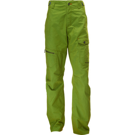 Camp and Hike The Norrna Svalbard Cotton Hiking Pants combine comfortable organic cotton with recycled polyester and a performance-focused design to keep you comfortable and ready for pretty much anything. Wear these pants for a week-long backpacking treks or weekend camping trips with the family. Your legs will feel great, and your mind will be happy knowing that the fabrics in these pants are as environmentally friendly as they are rugged. - $122.32