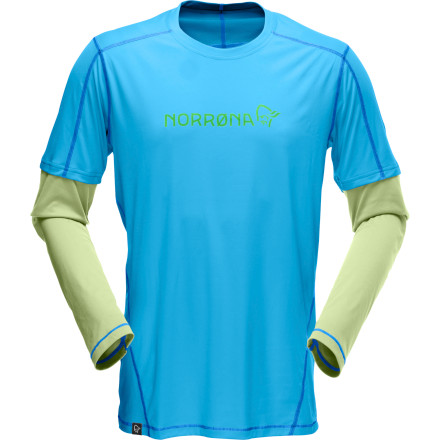 Fitness Whether you're trail running in the canyon or hitting the climbing gym, the Norr''na /29 Tech Long-Sleeve T-Shirt will keep you cool and dry when you're pushing your body into a sweat. Plus, the color-blocked sleeves give you a smooth layered look without the bulk or heat of actual layers. - $43.12