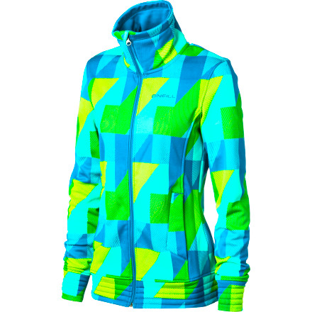 Surf Ditch that dingy old fleece jacket and upgrade to the O'Neill Catseye Women's Fleece Jacket. It features a stretchy tech fleece that repels light rain and snow, and a brushed lining to keep you so comfortable that you'll soon forget you ever liked another fleece. - $63.96