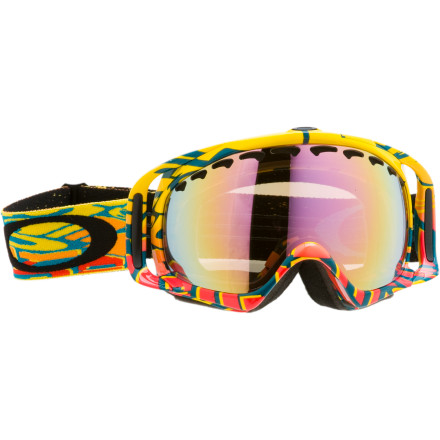 Surf Rock the Oakley Crowbar J Goggle whether you're surfing through neck-deep powder or flying over the table-top at the local park. - $67.48