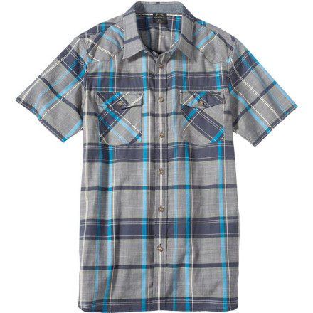 Oakley On The Trail Woven Shirt - Short-Sleeve - Men's - $55.00