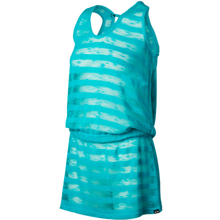 Entertainment Cover up without hiding next time you're at the beach with the Oakley Tech Mesh Women's Tank Dress. It has an ultralight see-through fabric so you can still show off your new swimsuit, and its loose drape provides a comfy feel. - $48.00
