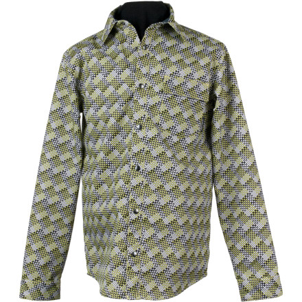 Lose the yellow plastic poncho and suit up for spring weather in style with the Obermeyer Topher Men's Windshirt. The polyester fabric has the look of your favorite flannel, but with a HydroBlock coating that repels water so you stay dry if you get caught in a sudden spring drizzle. - $62.97