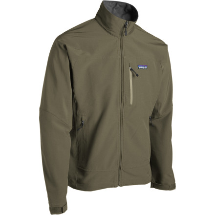 The Patagonia Mens Simple Guide Softshell Jacket gives you flexible, breathable comfort, so you stay warm, dry, and comfortable. Wear it over a baselayer in cool weather, or layer it over an insulating fleece when things get really cold. The ultra-light weight construction makes it packable, and the raglan sleeves keep you comfortable under pack straps. - $59.50