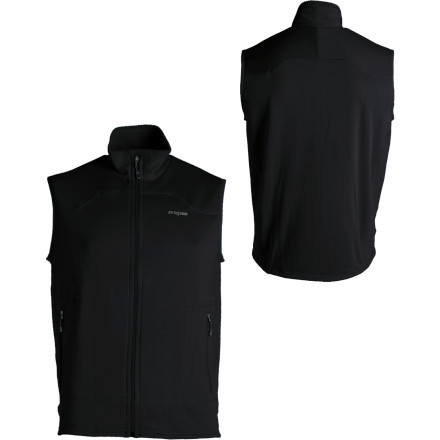 Climbing A vest for all seasons and all situations, the Patagonia R1 vest features versatile and resilient R1 fleece made of breathable and moisture-wicking polyester and 7% spandex for non-restricted movement from rock-climbing to extreme grocery shopping. - $39.60