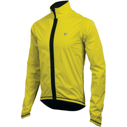Fitness The Pearl Izumi Elite Reverse Jacket is about as versatile as they come. This water-resistant, breathable, stretch jacket provides plenty of protection for rides where the weather is less than pleasant. It also offers the subtle, classic style that you expect from Pearl Izumi. That is, until dusk. When the light falls off in the evening, you can flip the Elite Reverse Jacket around so that its bright yellow side faces traffic, making you much more visible. The Elite Barrier Jacket provides you with the optimum amount of wind and water protection while still offering a breathable, supple fabric. The simple, form-fitted cut keeps it close to your torso -- there's no parachute effect with this jacket. The full front zipper has a draft flap that runs its length, ensuring fantastic protection from those cold winds. Affording the same protection from penetrating chills, the hem and cuffs are elasticized to fit snugly against your body. And since cold days are often dark days, an abundance of reflective elements have been included to keep you visible in low light. Pearl Izumi used flatlock seams in the Elite's construction to reduce chafing and irritation if you choose to wear the jacket without a base layer. A single zippered security pocket holds your keys or your phone, so you'll have quick, easy access to the essentials. The Pearl Izumi Elite Reverse Jacket is available in Black/black and True Red/black. It comes in sizes Small through XX-Large. - $87.48