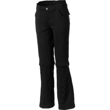Camp and Hike Make packing for your hiking or climbing trip easy with the prAna Women's Monarch Convertible Pant. This flattering, straight-leg pant features zip-off lower legs which come in super-handy when you're wading across small streams or hiking from dawn to dusk. - $79.95