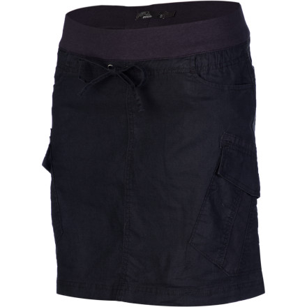 Fitness After a sweaty yoga session, shower, put on the prAna Women's Bailey Skirt, and head to the juice bar for a revitalizing smoothie. - $59.95