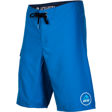 Surf You're a simple man with simple needs; all you're looking for in a board short is something that dries quickly, has a little give, and doesn't cost an arm and a leg. Luckily the Reef Ponto III Men's Board Short has you covered, with a quick-drying polyester fabric and a no-outseam construction that improves stretch, at a price that won't make you cringe. - $43.95