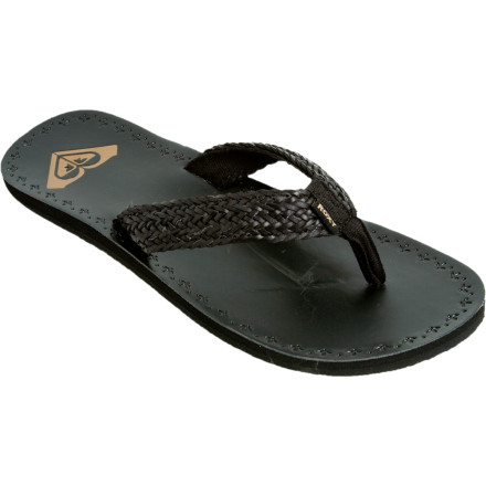 Surf Your feet have worked hard throughout the years to keep you moving, so reward them with a pair of killer Roxy Women's Fiji Sandals. Comfortable soft uppers, linings, and toe posts feel delicious against your bare feet while rubber outsoles keep your feet on track. - $14.50