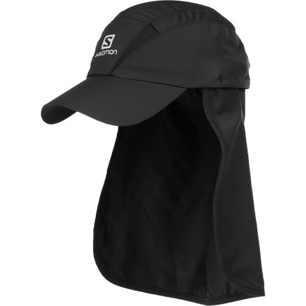Camp and Hike When the mercury is on the rise, throw the Salomon XA Hat on your head and let this high-tech hat shade you from the sun and increase sweat evaporation to keep you cool. - $22.95