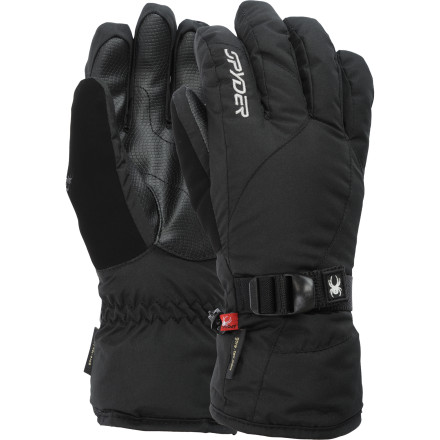 Ski Even if it's biting cold outside, the inside of the insulated Spyder Traverse Gore-Tex Glove will feel like a touch of toasty-warm paradise. - $29.98